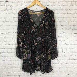 UO floral print dress